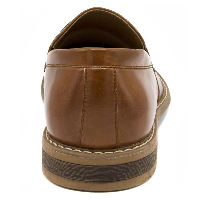 Elias Loafer in Tumbled Brown,Brown,large