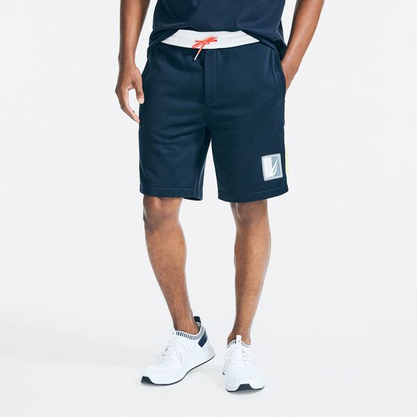 "9"" SIDE PANEL KNIT SHORT - Navy"