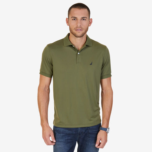 Short Sleeve Classic Fit Performance Polo - Green Spruce