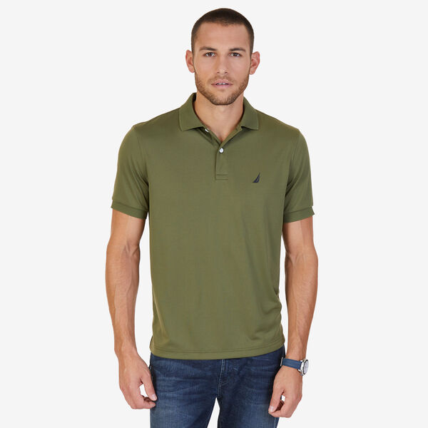 Classic Fit Performance Polo - Green Spruce
