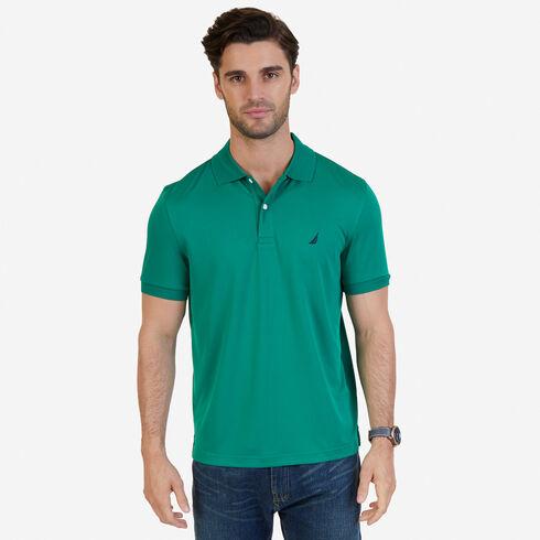 Short Sleeve Classic Fit Performance Polo - Verdant Green