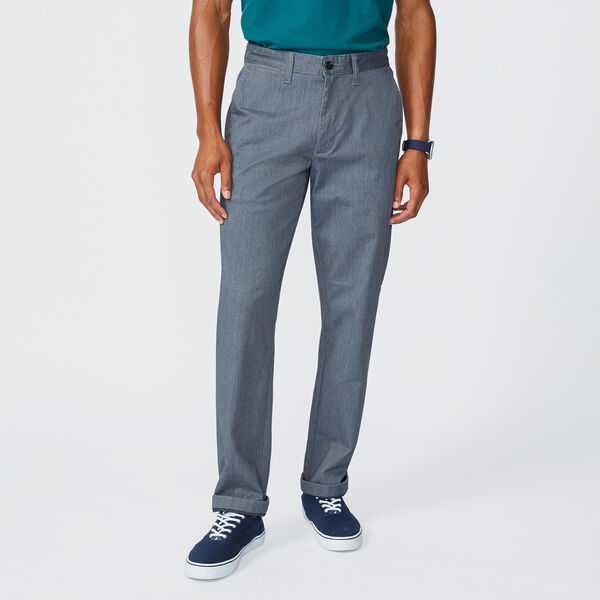 CLASSIC FIT TWILL CLIPPER PANT - Heather Grey