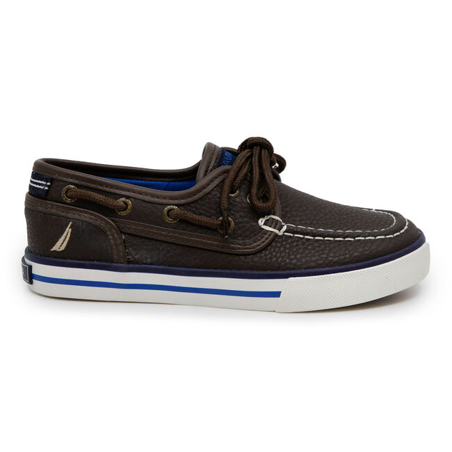 BOY'S SPINNAKER BOAT SHOE,Incense,large