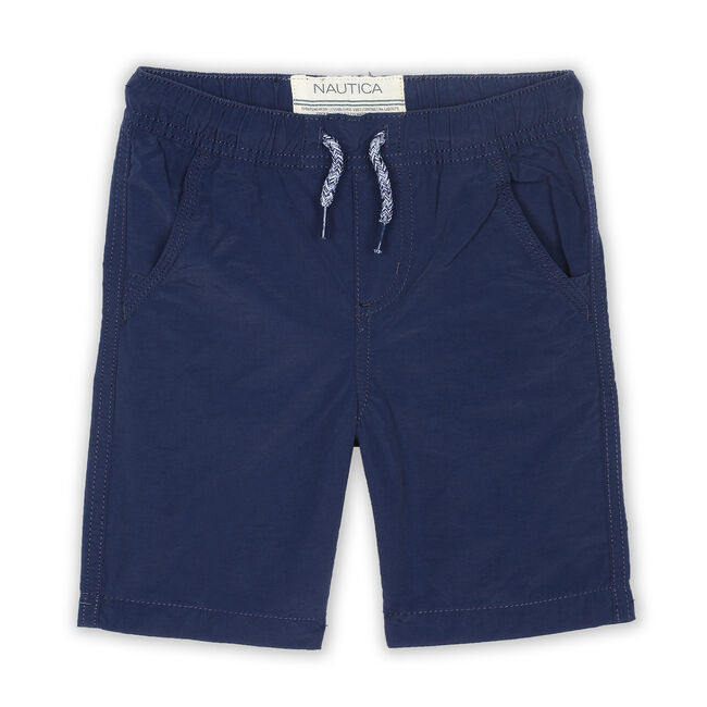 Toddler Boys' Stewart Pull-On Shorts (2T-4T),Oyster Bay Blue,large