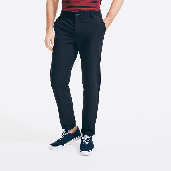 NAVTECH SLIM FIT TRAVELER PANT - True Black