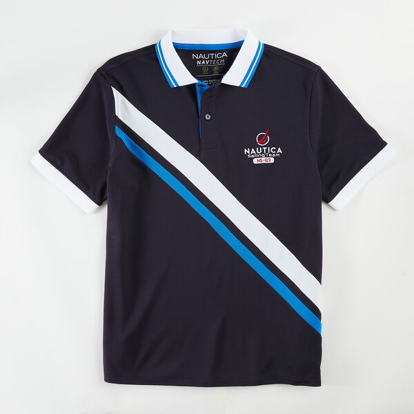 CLASSIC FIT PERFORMANCE NAVTECH SASH POLO - Navy