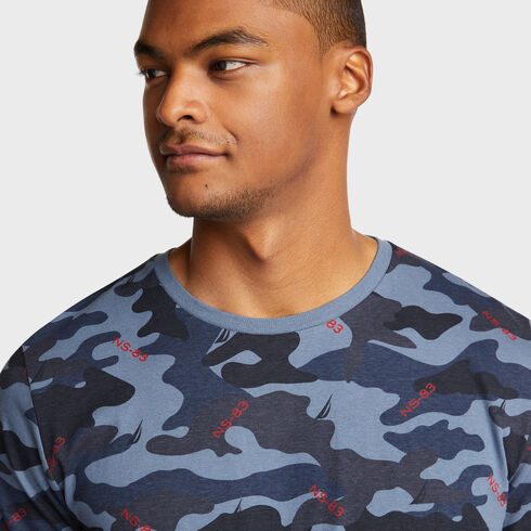 CAMO PRINT TEE - Cool Breeze