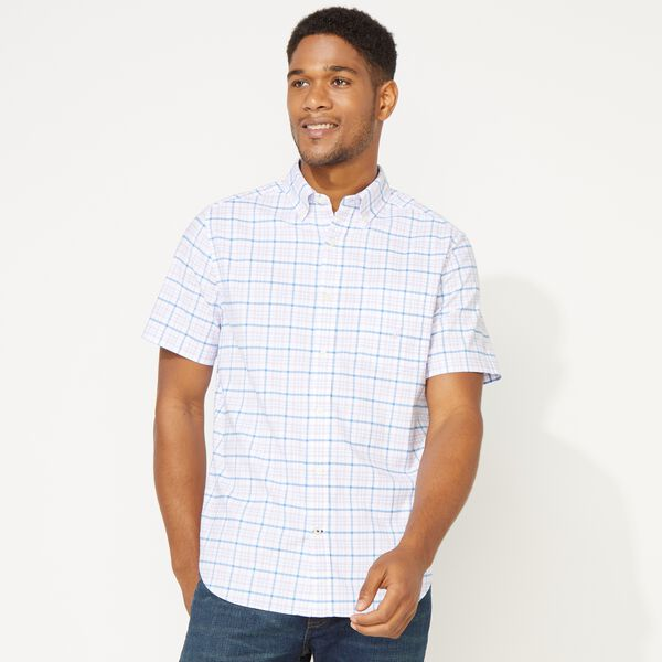PLAID SHORT SLEEVE OXFORD  SHIRT - Lavendula