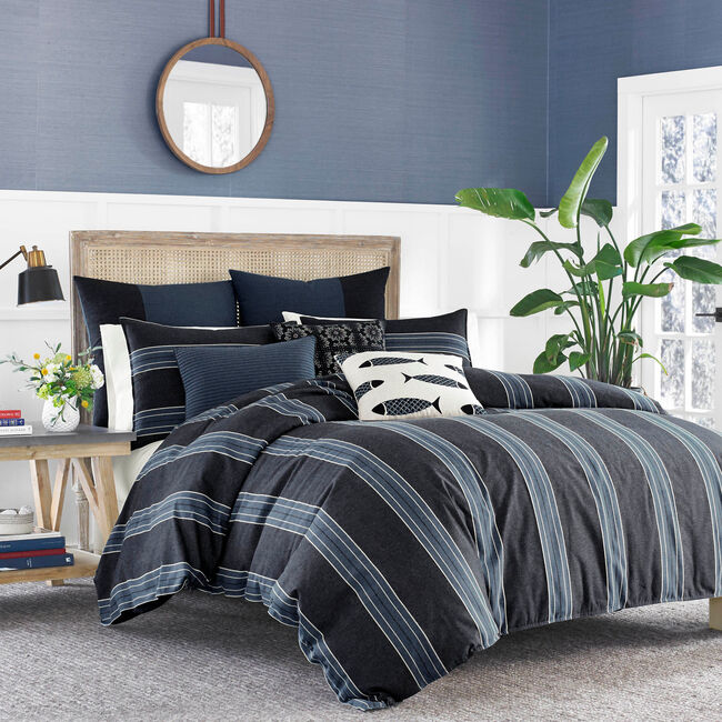 Lockridge Duvet Set,Navy,large