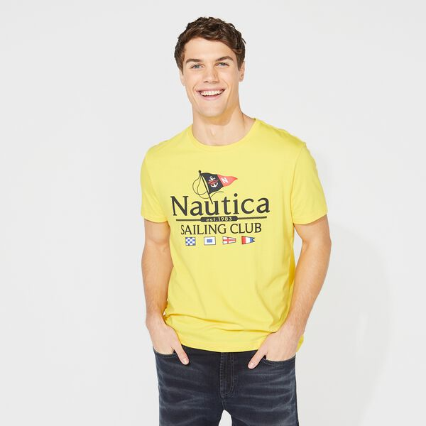 NAUTICA SAILING CLUB GRAPHIC TEE - Nautica