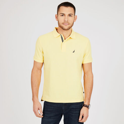 Short Sleeve Classic Fit Performance Deck Polo - Corn 1d76d72056