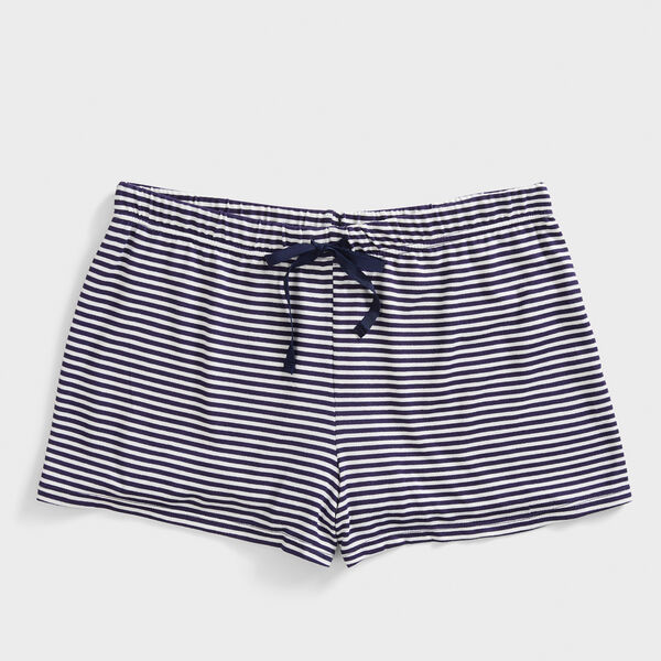 STRIPE LOUNGE SHORT - Windsurf Blue