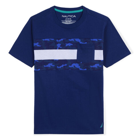 Boys' Ryan Pocket T-Shirt (8-20) - Medallion Blue