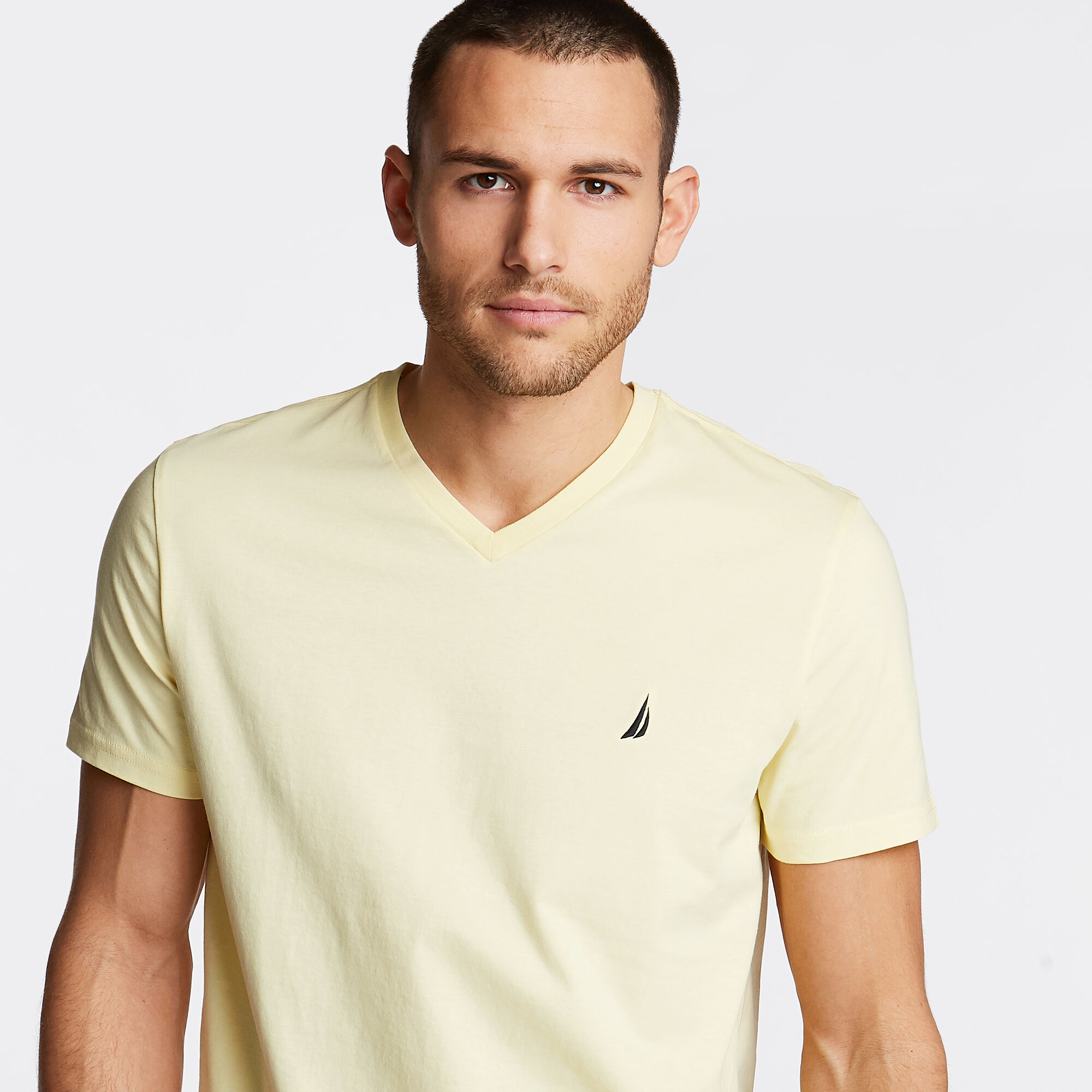 Nautica-Mens-V-Neck-Short-Sleeve-T-Shirt thumbnail 15