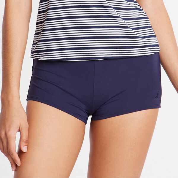 "2"" Boyshort Swim Bottom - Coastline Turq"