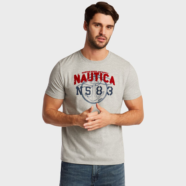 Anchor Rope NS-83 T-Shirt - Grey Heather