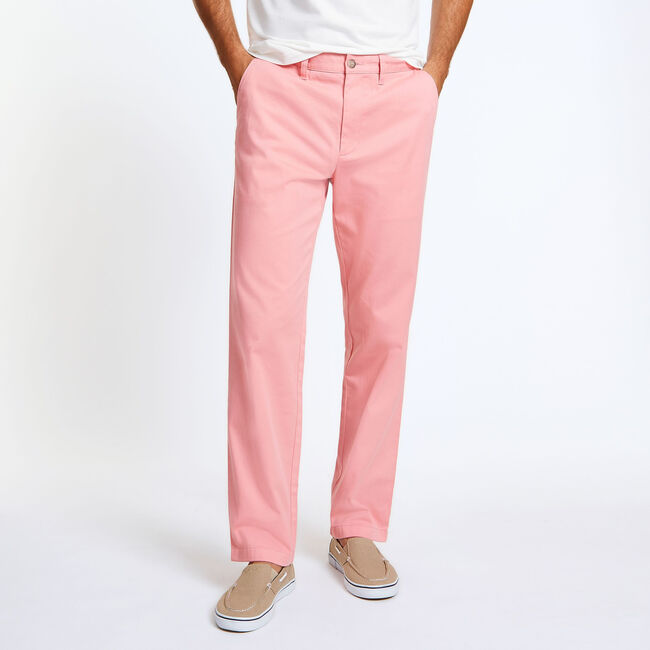 Classic Fit Deck Pant,Pink Shrimp,large