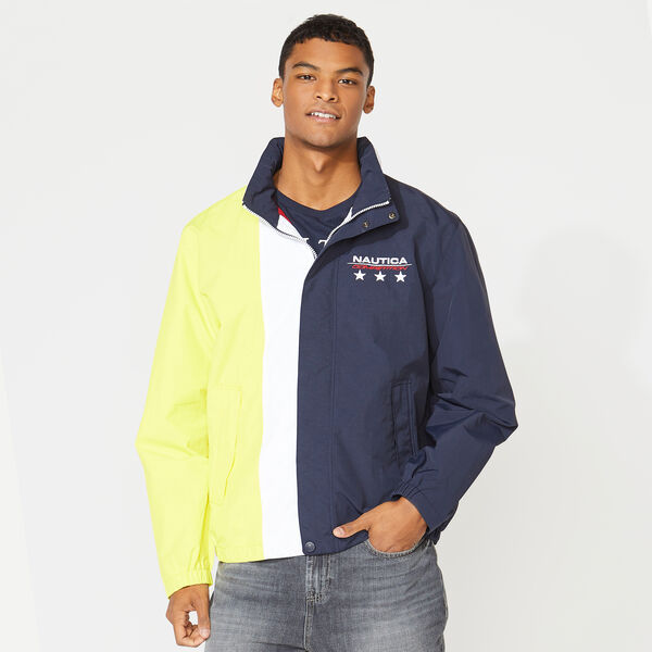 COMPETITION COLORBLOCK JACKET - Navy