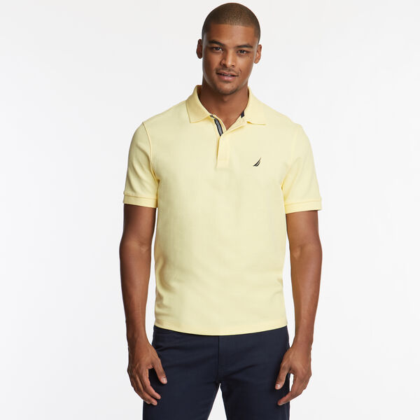 CLASSIC FIT DECK POLO - Corn