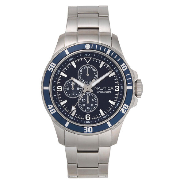 Freeboard Multifunction Watch with Metal Bracelet - Multi