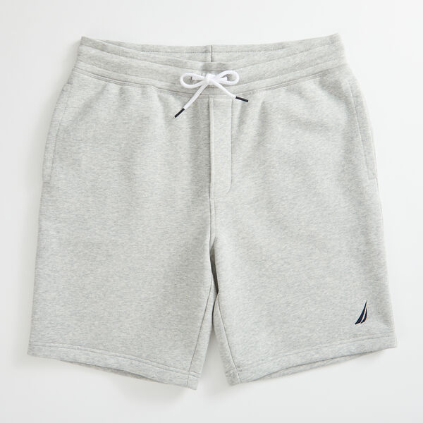 "9"" J-CLASS FLEECE SHORT - Grey Heather"