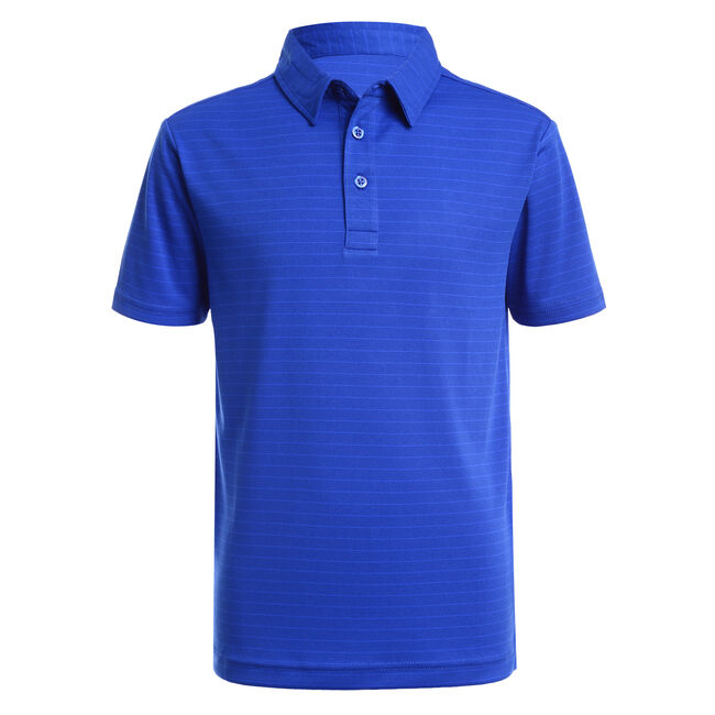 BOYS' SUPER SOFT POLO IN STRIPE (8-20),Noon Blue,large