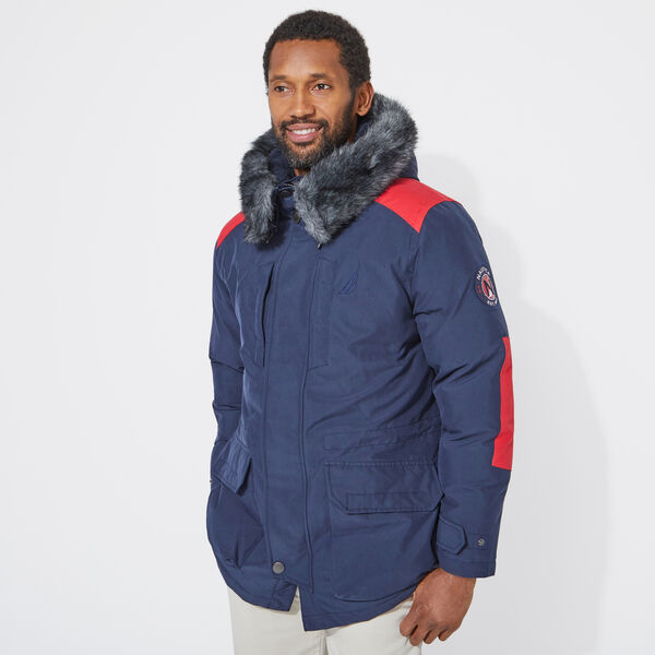 HEAVYWEIGHT PARKA WITH TEMPASPHERE - Navy