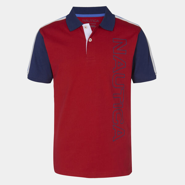 LITTLE BOYS' FRANKIE HERITAGE POLO (4-7) - Melonberry