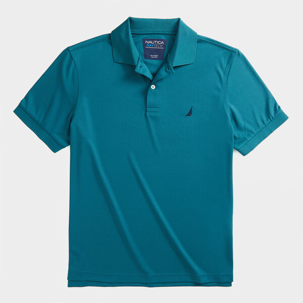 CLASSIC FIT NAVTECH PERFORMANCE POLO - Evergreen