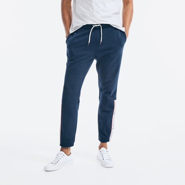 BONDED FLEECE JOGGER - Navy