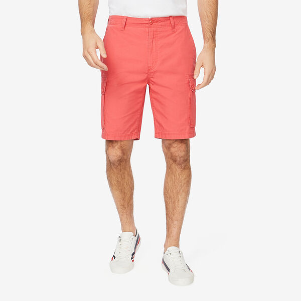 """8.5"""" CLASSIC FIT RIPSTOP CARGO SHORT - Sailor Red"""