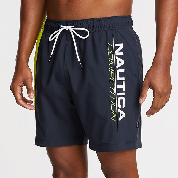 "6"" COMPETITION STRETCH SWIM TRUNK - Navy"