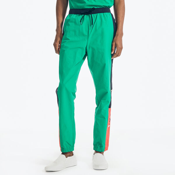 REISSUE COLORBLOCK TRACK PANT - Dark Dill