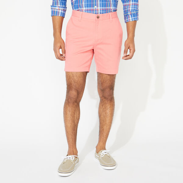 "6"" CLASSIC FIT DECK SHORTS - Pale Coral"