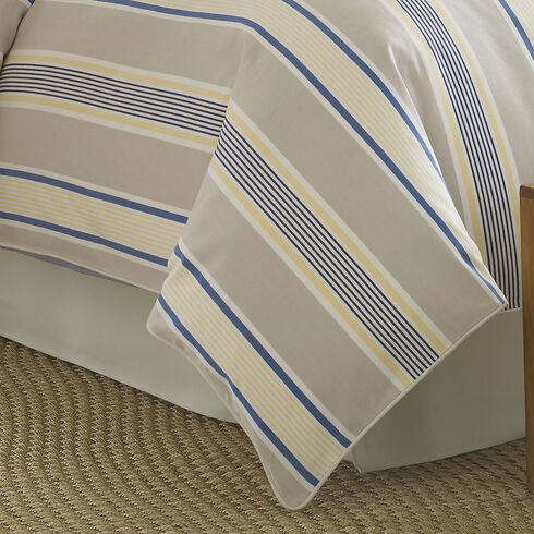 Prospect Harbor California King Bed Skirt - Sandstone