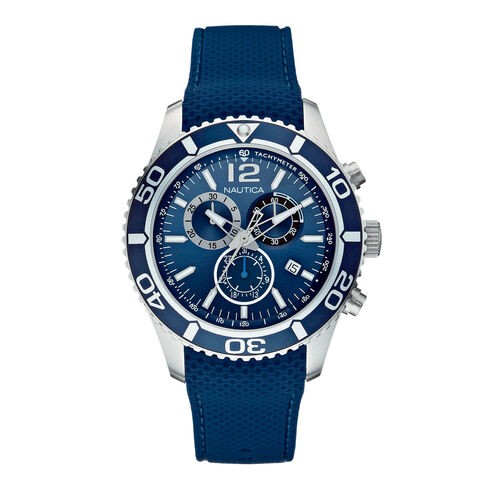 NST 09 Multifunction Chronograph Watch - Navy - Multi
