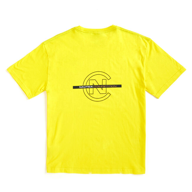 Lil Yachty by Nautica Competition Logo Tee,Blazing Yellow,large