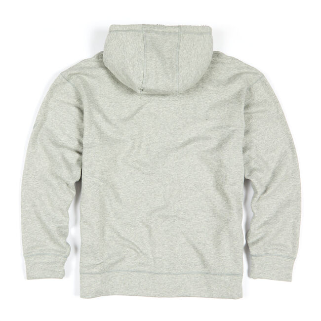 Big & Tall Sherpa Lined Hooded Fleece,Grey Heather,large