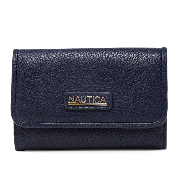 PLAIN SAILING FLAP WALLET - Pure Dark Pacific Wash