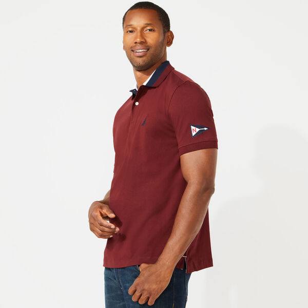 CLASSIC FIT SOLID POLO - Royal Burgundy