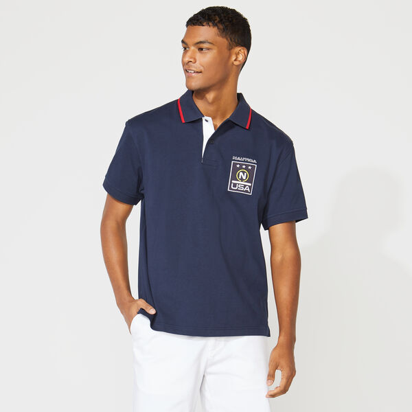 COMPETITION LOGO POLO - Navy