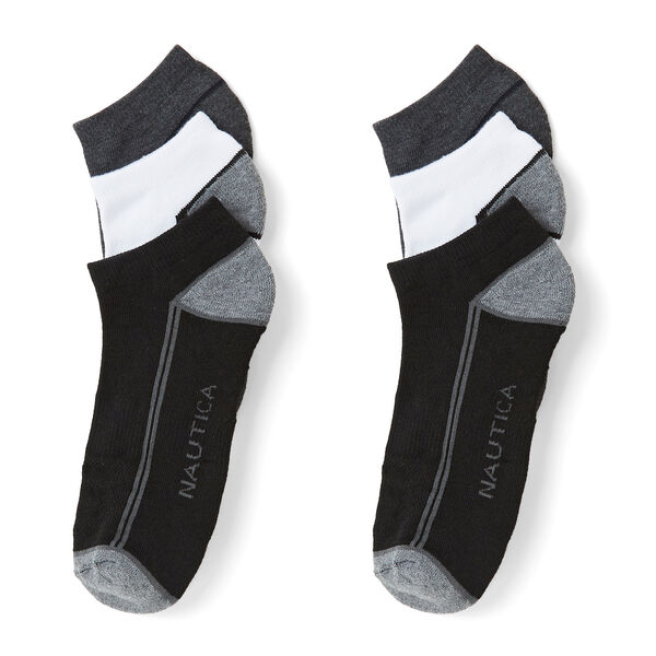 ATHLETIC LOW CUT SOCKS, 6-PACK - True Quarry