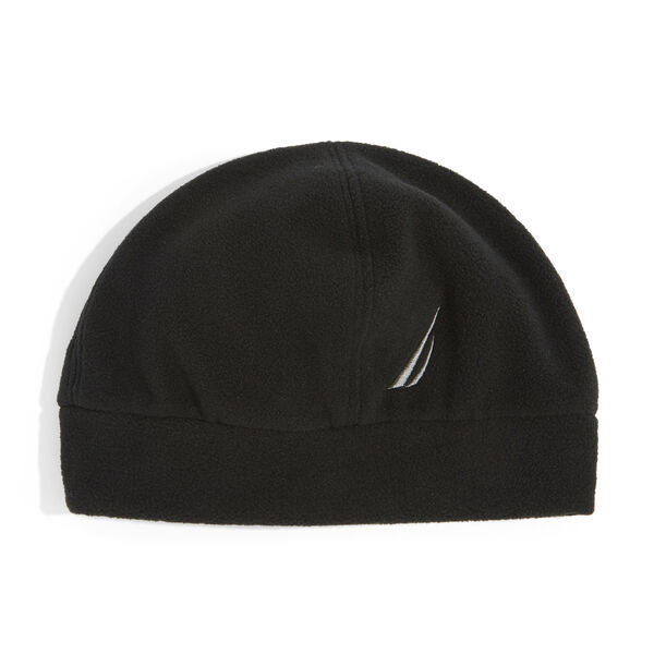 FLEECE BEANIE - True Black