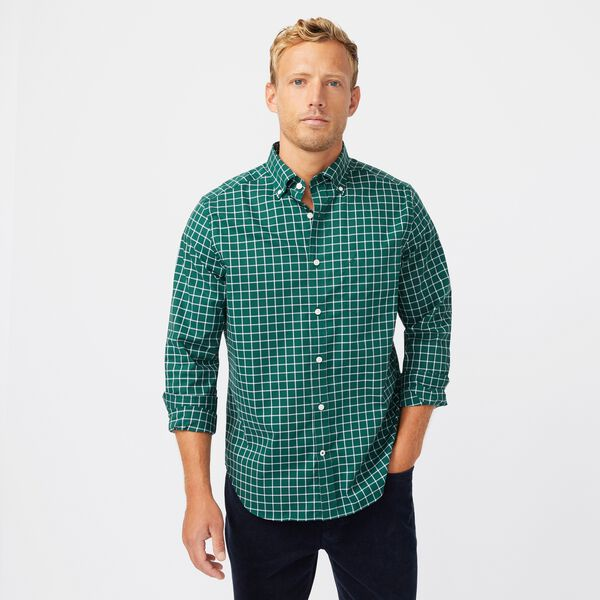 WRINKLE-RESISTANT PLAID SHIRT - Cosmic Fern