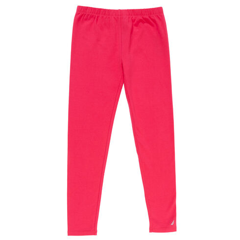 Little Girls' Solid Leggings (4-7) - Multi Pink
