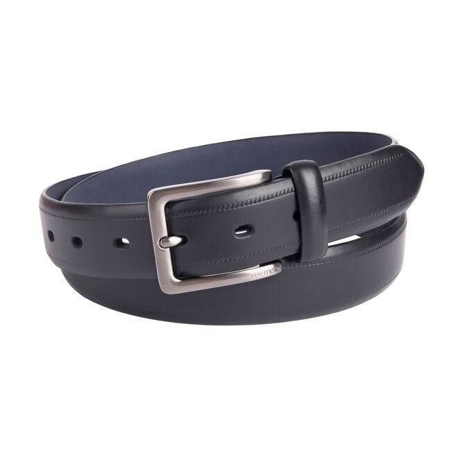 Embossed Belt,True Black,large