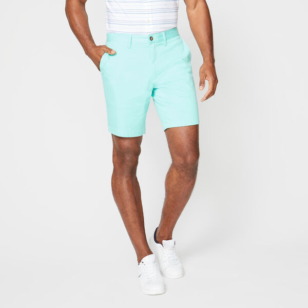 "8.5"" CLASSIC FIT DECK SHORTS WITH STRETCH - Sage"