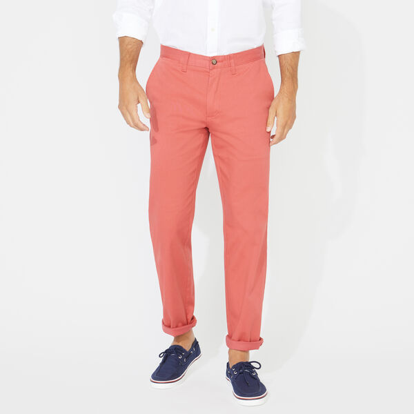 CLASSIC FIT DECK PANTS - Mineral Red