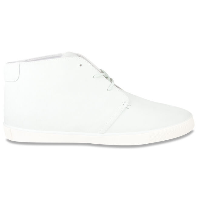 Wooster High-Top Sneakers - White Suede,Sail White,large