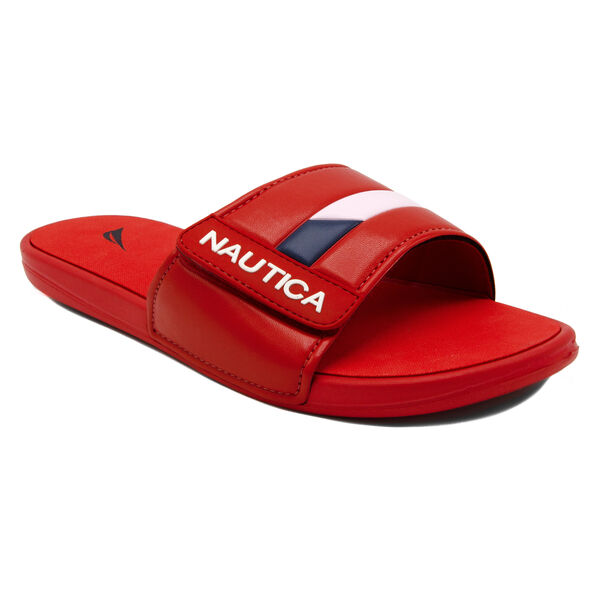 Bower 2 Slide Sandal in Red - Nautica Red